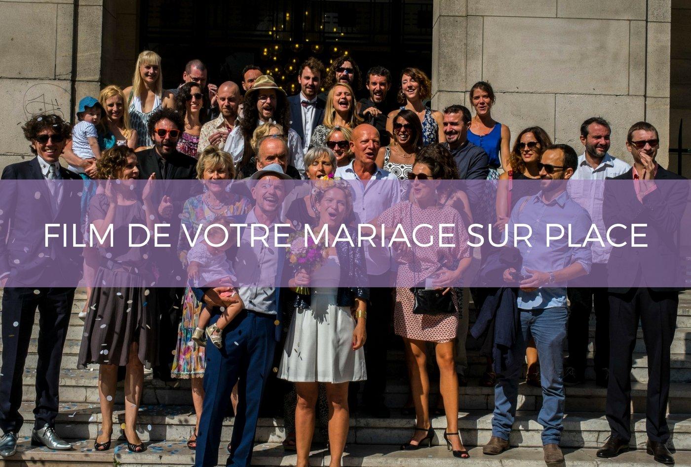 idée cadeau mariage cadeau vidéo mariage souvenir film inoubliable