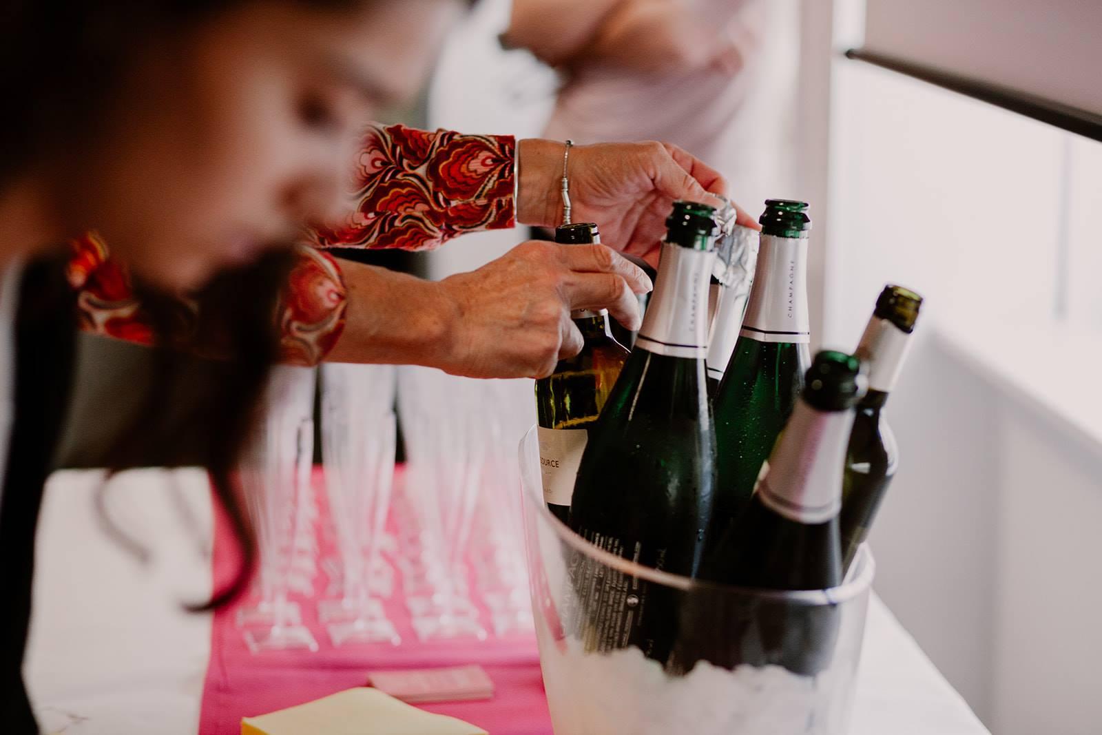 depart a la retraite champagne